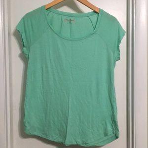 Teal T-shirt- medium